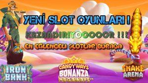 Eğlenceli Slot Oyunları Kazandırıyor